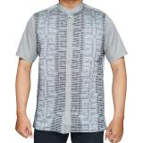 Spesifikasi Isbath Baju Koko Lengan Pendek Kdkp 46316 Abu Terbaru