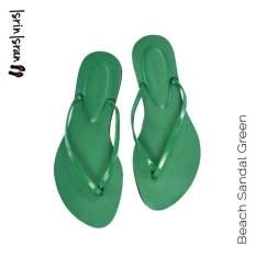 Ulasan Lengkap Tentang Isrin Isran Beach Sandal Green