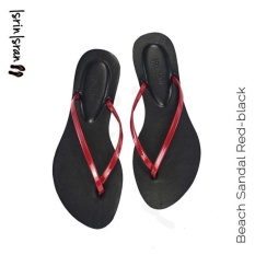 Isrin Isran Beach Sandal - Red Black