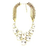 Ulasan Lengkap Tentang Istana Accessories Round Crystal Chain Fashion Necklace Putih
