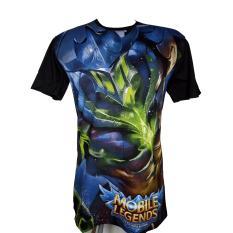 Jual Izy Kaos Distro Fit L Kaos Mobile Legend Kaos Mobile Legends Kaos Fashion T Shirt Pria Hitam Import