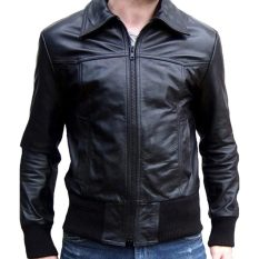 Jual J Brille Men Semi Leather Jacket Formal Rib Black J Brille Online