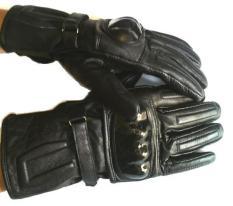 Promo J Brille Sarung Tangan Kulit Plus Kevlar Protector Full Finger Black J Brille Terbaru