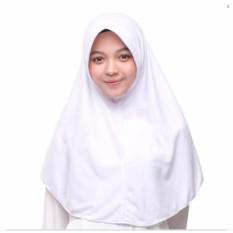 JABAR - FREE ONGKIR Kerudung Hijab Jilbab Instan serut putih sekolah tali Jokowi adem  Wanita nyaman di pakai sma smp hijabers Linen Ruby Square Motif Corak Bunga Warna Termurah Murah Laris Dan Terlaris Best Seller Muslimah Modis Kekinian  FREE COD