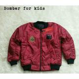 Promo Jacket Bomber Merah Maroon Akhir Tahun