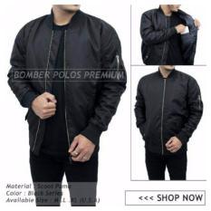 Harga Jacket Bomber Polos Exclusive Hitam Jawa Barat