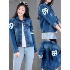 Ulasan Jaket Jeans Number Sporty Navy One Jj17B10