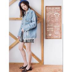 Toko Jaket Denim Wanita Jeans Oversize Denim Wanita Ripped Paw V891038 New V8175 Ancienstore Ripped Jeans Online Di Dki Jakarta
