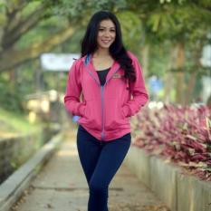 Jacket Wanita Hodie Jacket Hodie Women Pink Fanta Fleece 3K Fashion Murah Di Jawa Barat