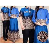 Kualitas Jakarta Couple Baju Couple Batik Miranda Blue Jakarta Couple