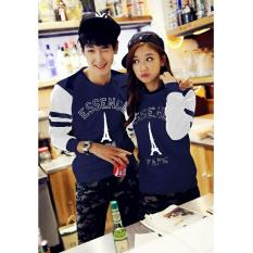 Jakarta Couple - Baju Couple Paris Esscence / Sweater Couple Paris/ Baju Couple Murah / Fashion Couple / Model Korea