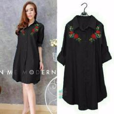 Jakarta Couple - Baju Tunik Wanita Black HF