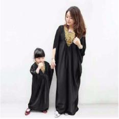 jakarta couple dress muslim pasangan elegant ibu dan anak hitam