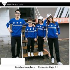 Spesifikasi Jakarta Couple Family Couple Sweater Star Blue 2 Anak Baju Keluarga Baju Family Ayah Bunda Anak Dan Harga