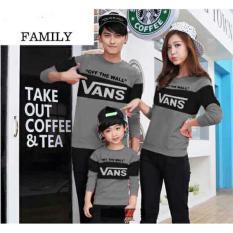 Beli Jakarta Couple Family Couple Sweater Vns Mt Hitam Ayah Bunda Anak Cicilan