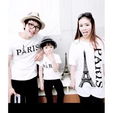 Jakarta Couple - Kaos Couple family Kalong Paris