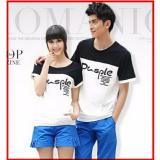Spek Jakarta Couple Kaos Couple Pusple Lengan Pendek Jakarta Couple