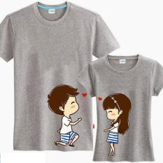 Jakarta Couple - Kaos Couple Say Love U Misty  Kaos Terbaru  Kaos Pasangan  T-Shirt Couple  Baju Pasangan / Baju Kopel / Kaos Kapel
