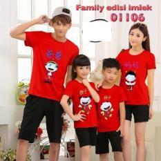 Jakarta Couple - Kaos Family Couple Imlek GNR / T-shirt Imlek / Baju Keluarga Sincia