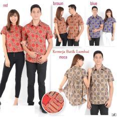 Jakarta Couple - Kemeja Couple Lumbai Batik / Kemeja Couple Batik / Baju