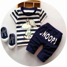 Spesifikasi Jakarta Couple Stelan Kaos Anak Anak Pria Snoopy Baju Anak Cowok Baju Anak Kecil Stelan Baju Anak Baju Minion Paling Bagus