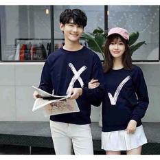 Jakarta Couple - Sweater Couple Bingo Navy