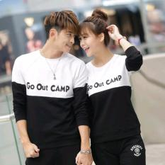 Spesifikasi Jakarta Couple Sweater Couple Go Out Camp Bagus