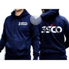 Jaket 3Second Warna Navy / Sweater Hoodie/Jaket Zipper Distro 3Second - Cd79b7