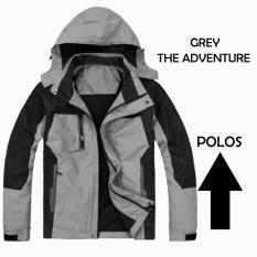 Jaket Adventure Abu Abu Jaket Gunung Jaket Hoodie