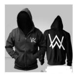 Harga Jaket Alan Walker Black Sweater Pria Wanita Yang Murah