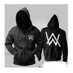 Harga Jaket Alan Walker Black Sweater Pria Wanita Jaket Pria Baru