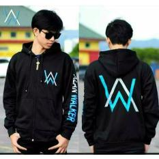 Review Jaket Alan Walker Hand Teext Hitam Terbaru