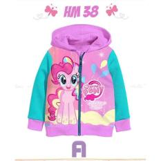 JAKET ANAK HM 38 MY LITTLE PONY MURAH BIG SIZE 2Y-13Y