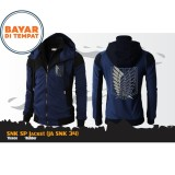 Jaket Anime Hoodie Double Zipper Shingeki No Kyojin Attack On Titan Best Seller Digizone Diskon 40