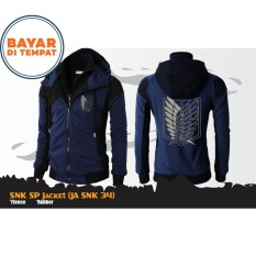 Toko Jaket Anime Hoodie Double Zipper Shingeki No Kyojin Attack On Titan Best Seller Online Di Jawa Barat