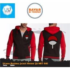 Beli Barang Jaket Anime Hoodie Zipper Naruto Uchiha Baseball Ja Nrt 68 Best Seller Black Red Online