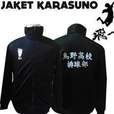 Jual Jaket Anime Karasuno Haikyuu Murah