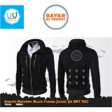 Jual Jaket Anime Naruto Rikodo Sennin Mode Funnel Jacket Black Satu Set