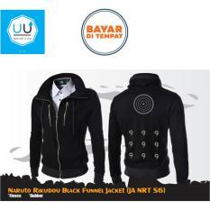 Spesifikasi Jaket Anime Naruto Rikodo Sennin Mode Funnel Jacket Black Lengkap Dengan Harga
