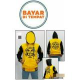 Jual Jaket Anime One Piece Trafalgar Law Yellow Hoodie Zipper Best Seller Ori