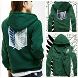 Jual Jaket Anime Snk Attack On Titan Green Hijau Bajoecloth Grosir