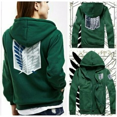 Toko Jaket Anime Snk Attack On Titan Green Hijau Indonesia