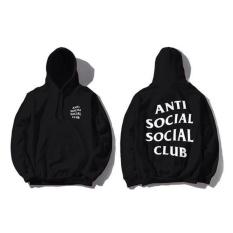 Toko Jaket Anti Social Social Club Keren Jaket Sweater Hoodie Asscl Black Premium Brother Store