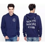 Diskon Jaket Anti Social Social Club Keren Jaket Sweater Hoodie Asscl Nevy Premium Akhir Tahun