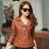 Ulasan Lengkap Tentang Jaket Blazer Semi Kulit Wanita Coklat