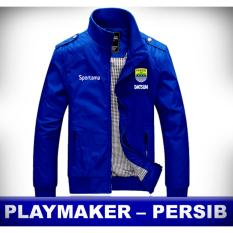 Jaket Bola Persib Bandung Parasut Waterproof