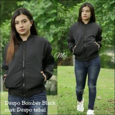 Model Jaket Bomber Despo Polos Fashion Jaket Wanita Terbaru