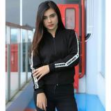 Cuci Gudang Jaket Bomber Fleece Fashion Sport Wanita