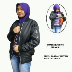 Jual Beli Jaket Bomber Polos Wanita Hitam Di Jawa Barat