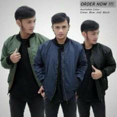 Jaket Bomber Pria Hijau Army Boomber Premium Jeans Jokowi Murah M L Xl - Db76ee